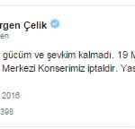 Gülben Ergen Ankara Olayları Nedeniyle Konserini İptal Etti!